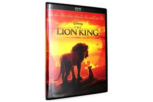 China The Lion King (2019) DVD Movie Classic Adventure Series Movie Animation DVD (US UK Edition) on sale