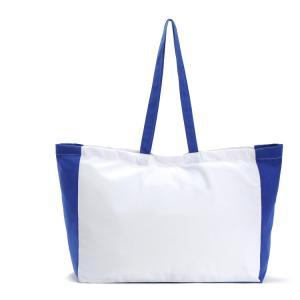 China Fashion Large tote bag carrrying Canvas shopping bag Handbag promotional bag supplier