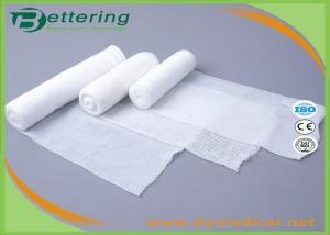 China Medical Crepe PBT Elastic bandage PBT Woven Bandage Conforming Gauze Bandage on sale
