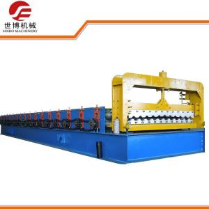 China High Speed Trapezoidal Sheet Roll Forming Machine , Metal Roofing Roll Former? on sale