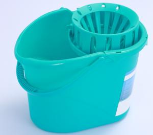 China Muliti Funtional 360 Spin Mops Squeeze Bucket With Handle / Wringer Bucket for Home 12L on sale