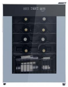 China Deluxe 24 Bottles Single Zone Wine Cooler 50-85% Humidity Range CE Certificated on sale