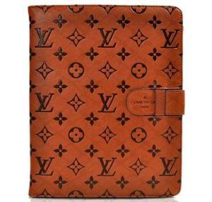 China Louis Vuitton Monogram Embossed LEATHER CASE  for iPad 3/4 iPad Mini iPad Air on sale