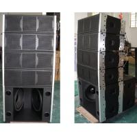 China Small Size 500 Watts Powered Line Array Mobile Stage Loudspeaker System on sale