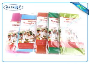 China Restaurant Disposable Table Covers Non Woven Spunbond Polypropylene Table Cloth on sale