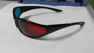China Eco-Friendly Plastic Red Cyan 3D Glasses Polarized For Look 3d Movie on sale