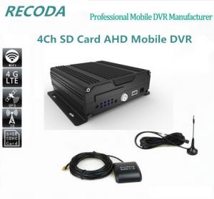 China Dual 3G Car DVR 4ch Bus 4G Mdvr Support ISO Android Mobile Phone Surveillance on sale