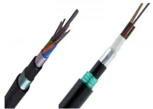 China Armored Fiber Optic Cable Direct Burial Double Sheath 48 Core Fiber Optic Cable GYTA53 on sale