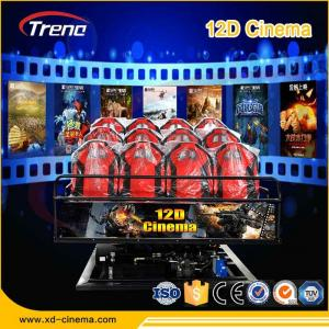 China 5KW Electric System 9D VR Cinema 9D VR Simulator Six Seat Players for Amusement on sale