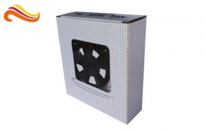China Easy Open Corrugated Paper Box Custom Crash Lock Base For Packaging on sale