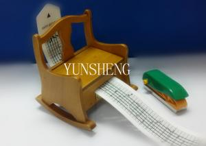China Elegent Craft Music Box Wooden Hand Cranked Rocker Music Box (LP-37) on sale