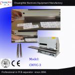PCB Separator Machine for LED Lighting Industry with 2 High Speed Steel Blades