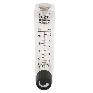 China LZT Series Acrylic Liquid Glass Tube Rotameter Water Flow Meter For Industrial on sale