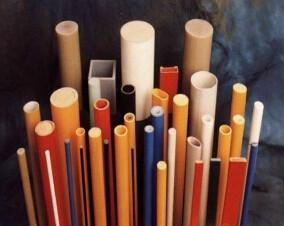 China High strength frp pultruded round tube on sale