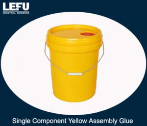 China Single Component Yellow Assembly Glue Adhesive for Lamination, Assembly and Finger Jointing on sale