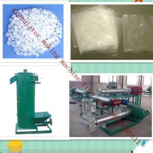 China high quality manufacturer manufacturer plastic pellet making machine supplier