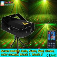 China mini laser lights twinkling star Auto sound mini dj stage lights cheap price ce rohs with remote control on sale