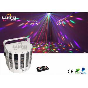 China La soirée dansante de papillon de contrôle de distance allume le modèle rouge de laser de vert on sale