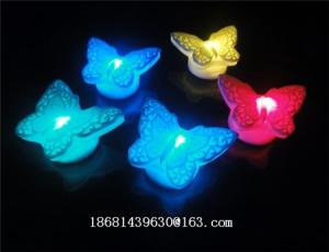 China led flashing fan toy/butterfly led flashing toys on sale