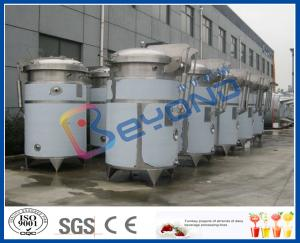 China SUS304 / SUS316L Stainless Steel Extraction Tank With Dimple Pad Jacket on sale
