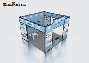 China AE Outdoor Display Booths , Truss Exhibition Stand With Aluminum Stage Truss System on sale