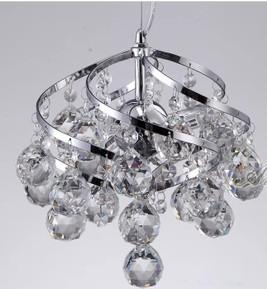 China Luxury Stylish 3 lights energy saving light bulbs Corridor Stair Chandelier on sale