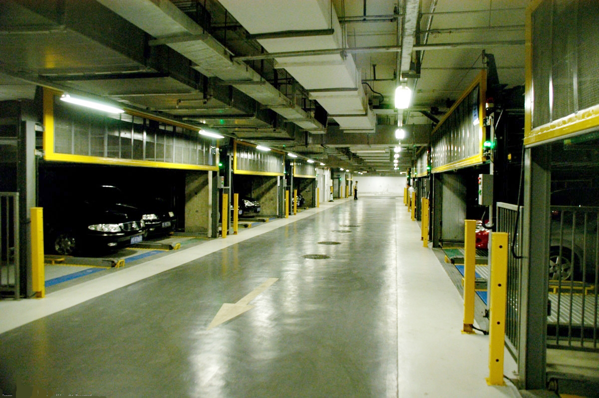 Mechanical Underground Parking Garage Design Companies