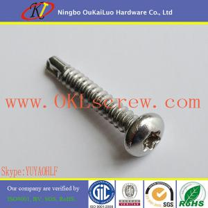 China Stainless Steel Pan Head Torx Self Drilling Screws on sale