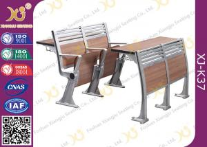 China Aluminum College Furniture Ladder Folding School Desk And Chair 520 * 480 * 780 mm on sale