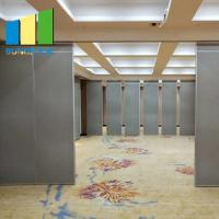 China Operable Soundproof Acoustic Office School Waterproof Movable Partition Walls on sale