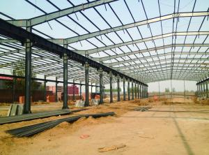 China 2018 new China  arrival prefab building light steel structure on sale