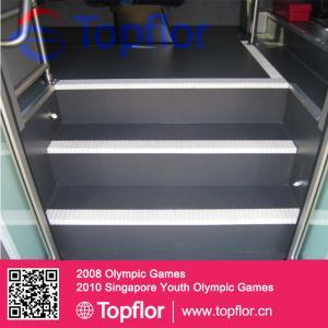 China Plastic flooring (bus, coach, train) Commerical flooring safety flooring Transport floorin on sale
