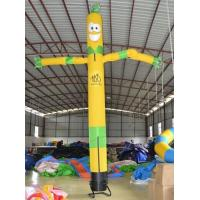 Large Yellow Boy  Air Dancer , Inflatable Marketing Products 5m Size