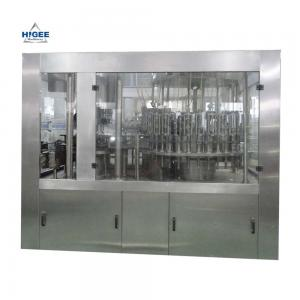 China 3 In 1 Mineral Water Bottle Filling Machine Electric Driven 110/220/380V Voltage on sale