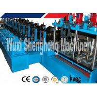 Cable Tray Cold Roll Forming Machine For Colored Galvanized Steel Sheet