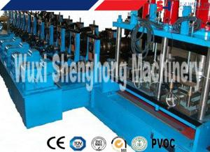 China Cable Tray Cold Roll Forming Machine For Colored Galvanized Steel Sheet on sale