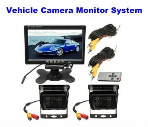 China 2.0 Megapixel Car Reversing Camera / Night Vision Reverse Camera With Monitor System on sale