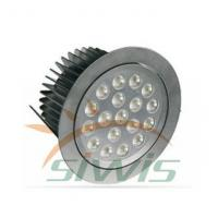 China Outdoor Led Downlights Recessed 18 w 12v 1800 Lumen 90 Degree For Office on sale