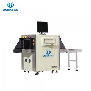 China UNIQSCAN 34mm Penetration Resolution X Ray Baggage Scanner Machine SF5030C on sale