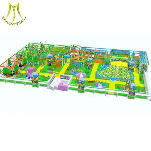 China Hansel  low price kids soft indoor playground for entertainment center Guangzhou on sale