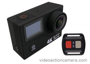 China Underwater 1080p 60fps Action Camera , Full HD Action Cam Remoter Control on sale