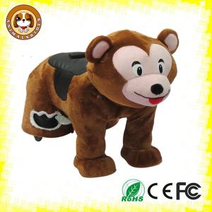 China Coin operated electric animal scooter electric toy cars for kiddie for kids, adults amusement on sale
