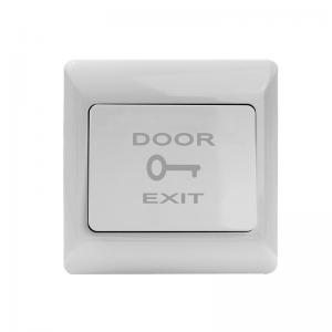 China Fireproof PVC Door Exit Push Button NO NC COM Plastic Series Back Box Optional on sale