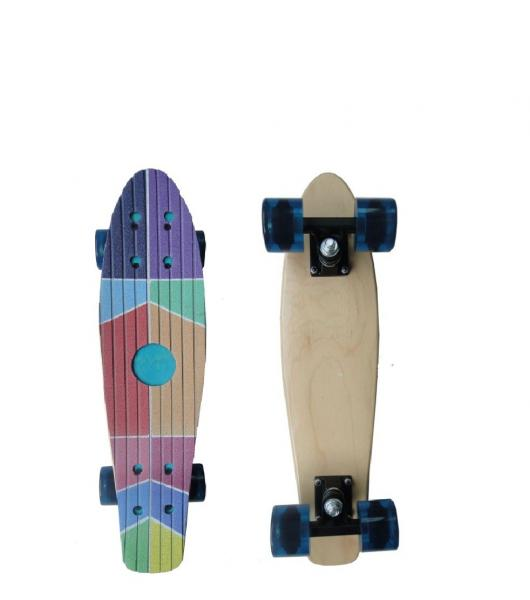 Wooden Mini Penny Board Penny Complete Skateboard 27 8 Inches For