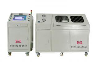 China Oil / Water Medium Hydrostatic Pressure Testing Machine Air Leakage Tests on sale