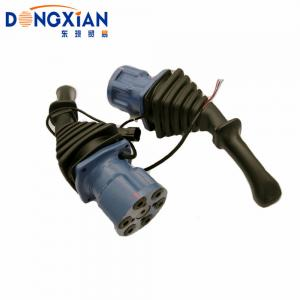 China Standard Blue And Black Joystick Handle For Eaton Excavator Components on sale