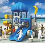 Certificated durable LLDPE made anti-UV, anti-fade color optional out door playground