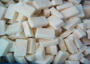 China Premium IQF Frozen Vegetables , Block Shape Mashed Garlic / Puree / Paste on sale