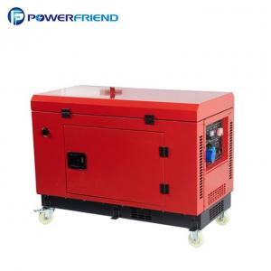 China Single Phase Diesel Generator 10kw 400v Small Size Soundproof Generator on sale