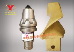 Quality Antifriction Alloy Carbide Bullet Teeth , Foundation Drilling Bullet Teeth For for sale